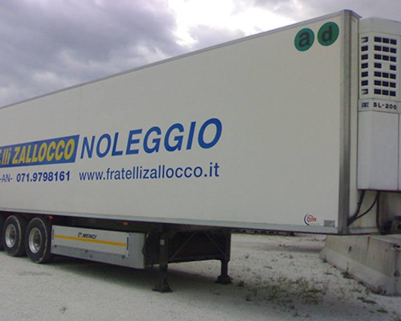 semirimorchio frigo F.lli Zallocco