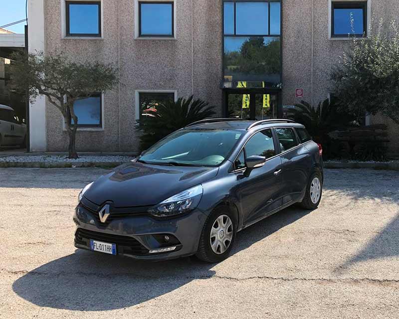 Noleggio Renault Clio disel station 1.5 F.lli Zallocco Loreto