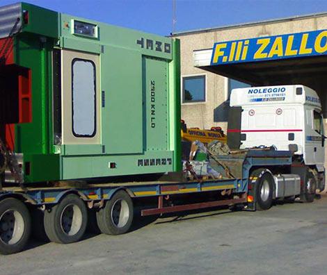 Trasporto di merci e carichi eccezionali F.lli Zallocco