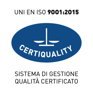 MARCHIO UNI EN ISO 9001:2015